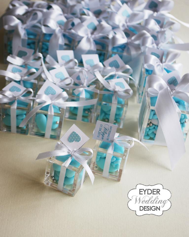 Top EYDER Wedding DESIGN: Scatole degustazione e bomboniere in plexiglass BL49