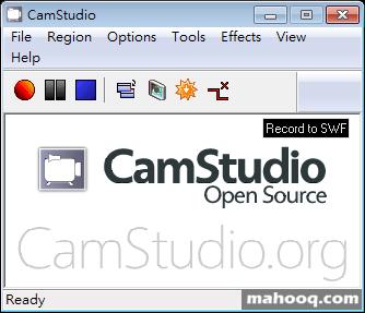 免費螢幕錄影軟體下載推薦:CamStudio Download,可錄製電腦螢幕畫面製作教學影片(聲音可收錄)