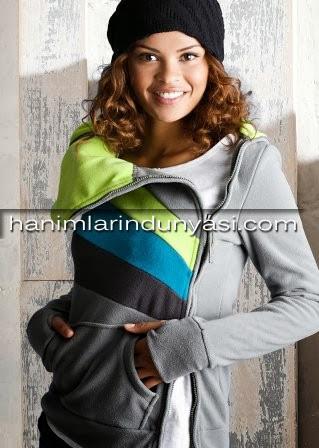 2014 Yeni Moda Bayan Sweatshirt Modelleri