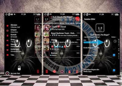 BBM Mod Transparan Terbaru 2015 v2.8.0.21 Team Begal APK