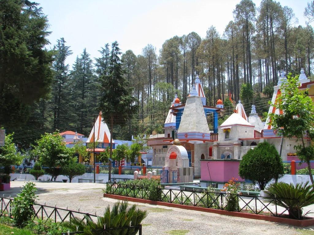 Binsar mahadev temple in Ranikhet