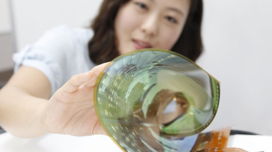 LG OLED Rollable Display