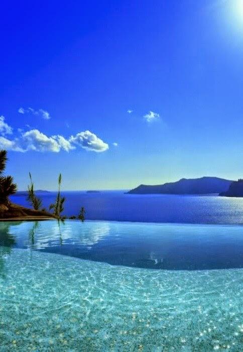 infinity pool overlooking ocean - photo #36