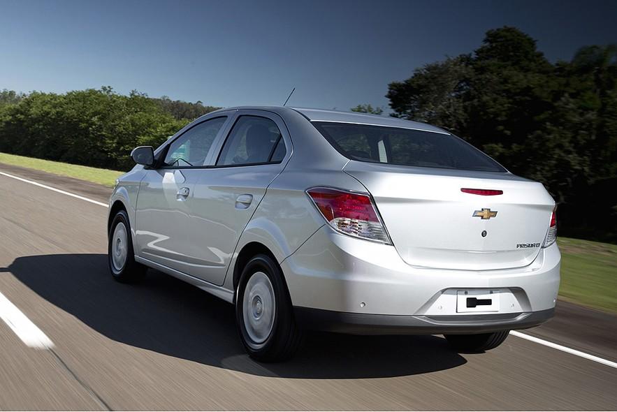 novo Chevrolet Prisma 2014 traseira