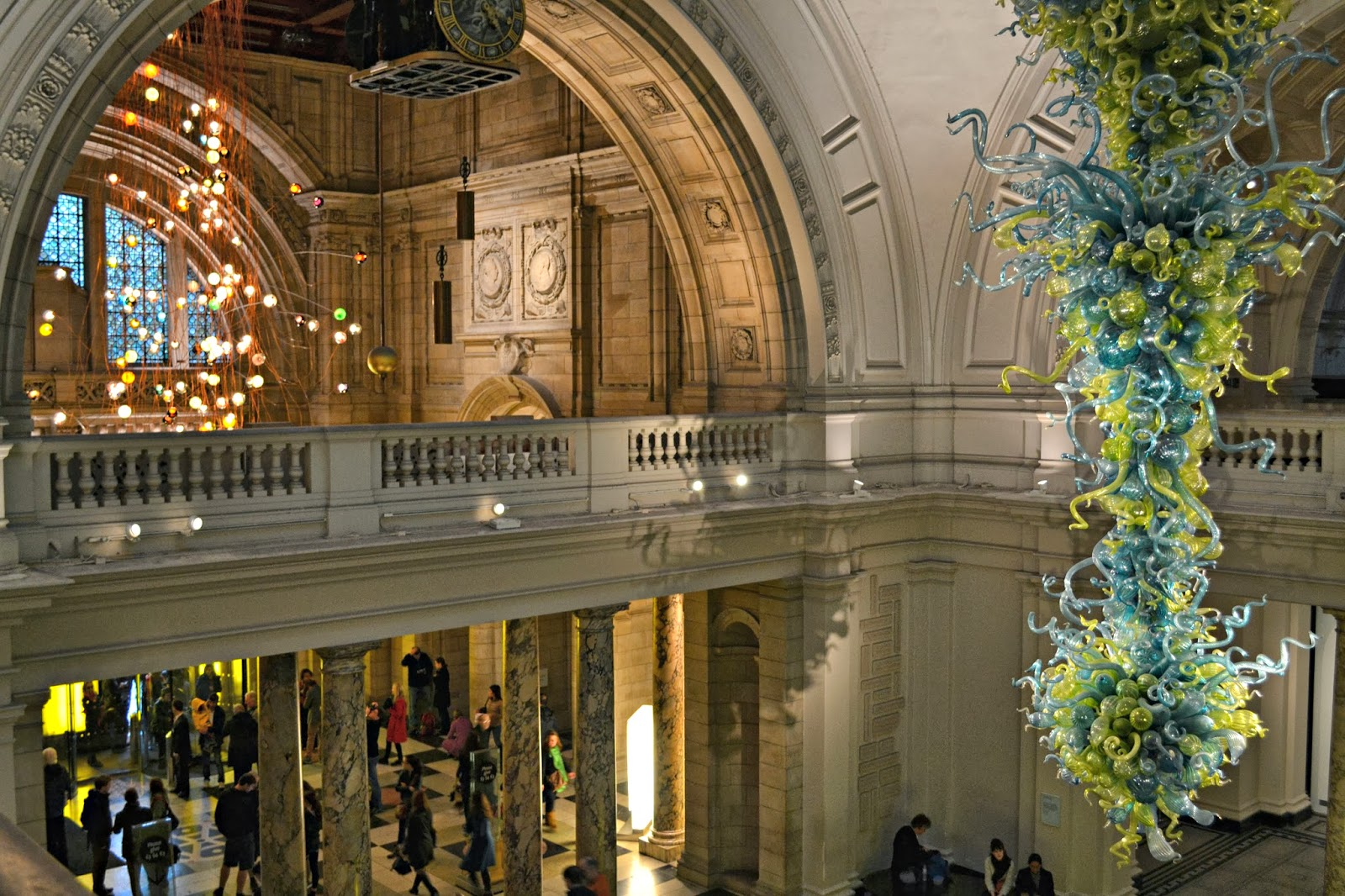 A floral crown: VICTORIA AND ALBERT MUSEUM