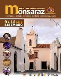 Monsaraz- Festas em Hª de Nº Sr Jesus dos Passos 2016- 9 a 12 Setembro