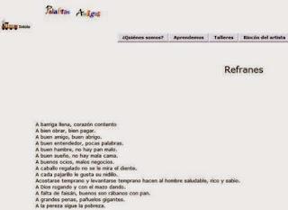 http://www.rinconsolidario.org/palabrasamigas/pa/refranes.htm