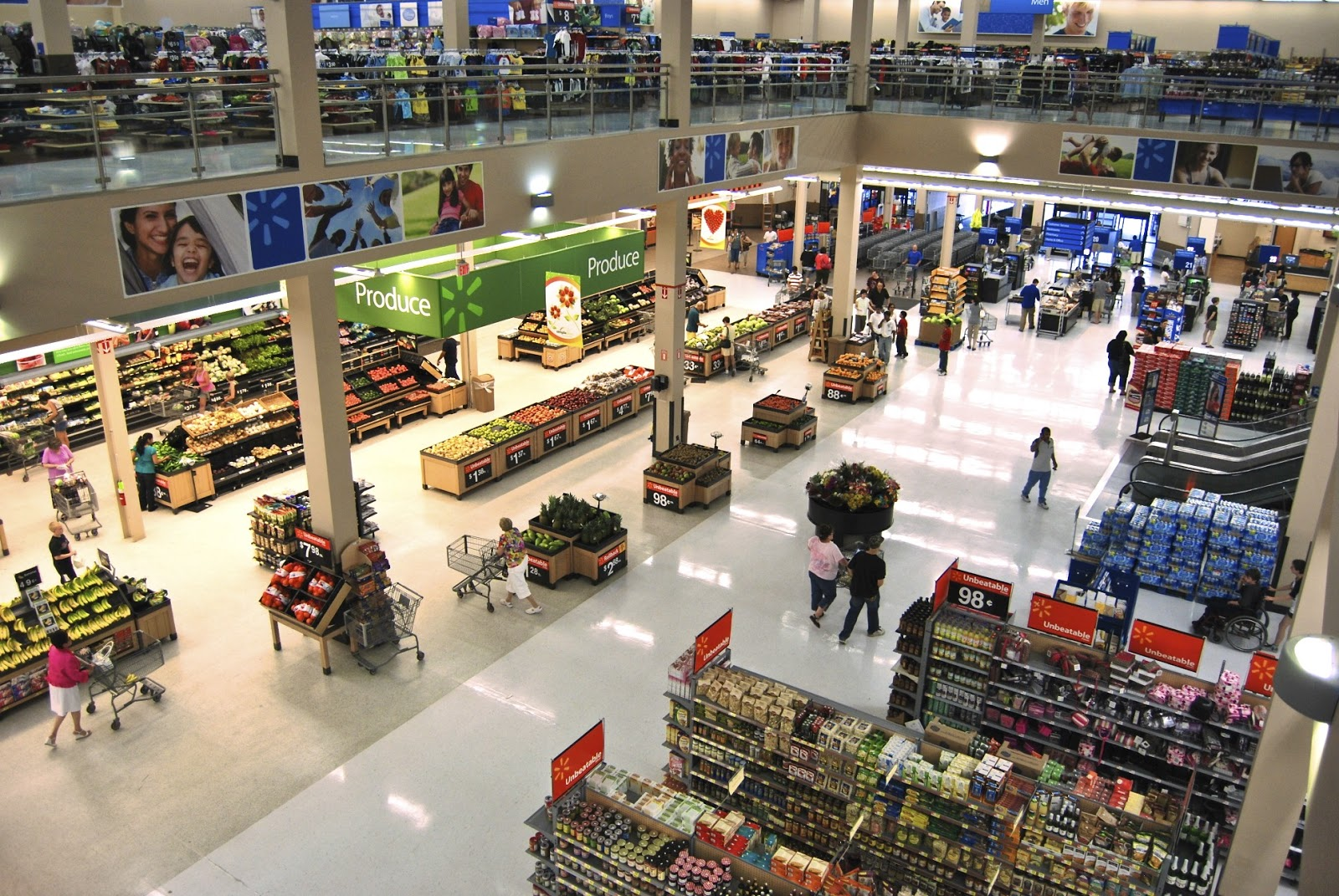 Walmart announced plans today to purchase energy efficient led ceiling lighting fixtures for new supercenters in the united states stores in asia and latin