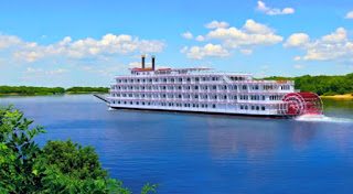 America Cruise Line's Queen of the Mississippi