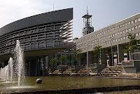 Landhausschiff and Klangturm in St Poelten