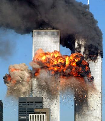 Foto del atentado del 11 Septiembre 2001