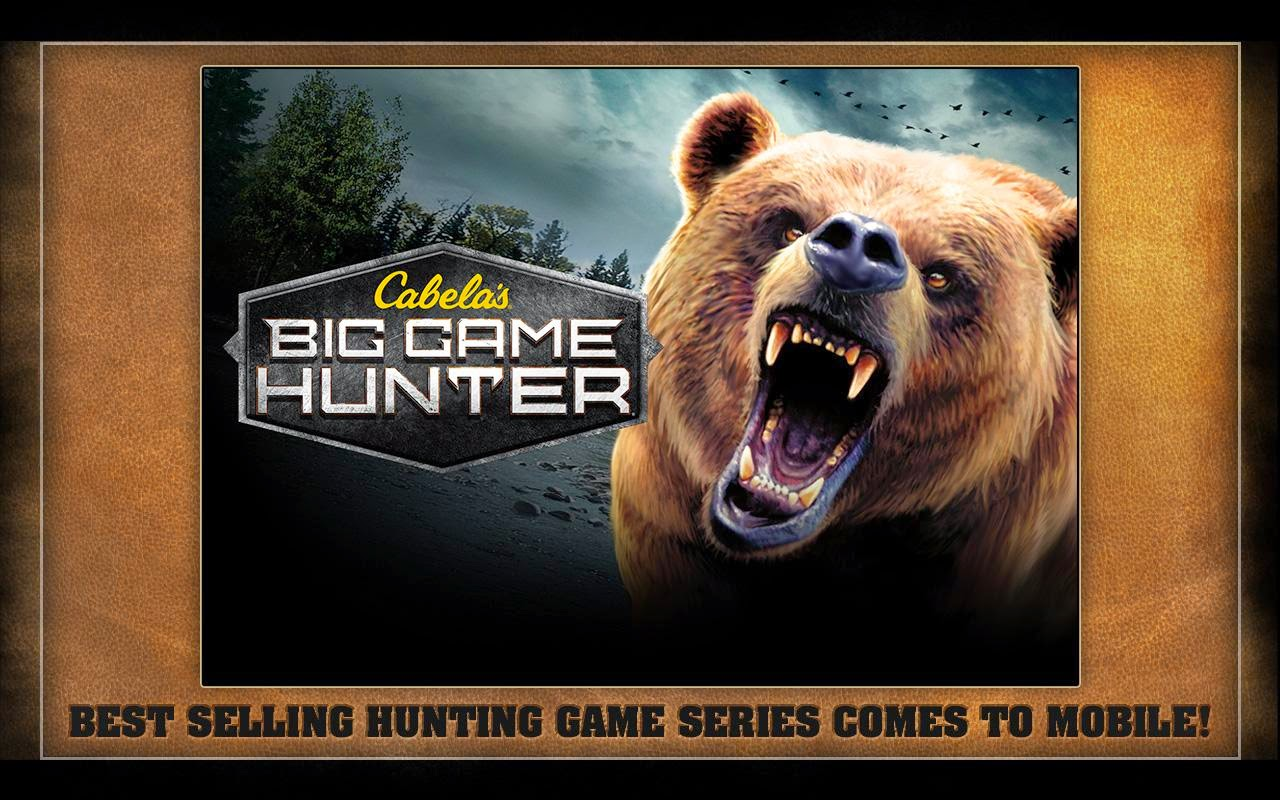 Cabela's Big Game Hunter v1.2.0 APK+DATA [Mod Money]