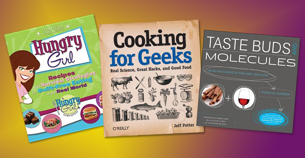 Geeky cookbooks and such