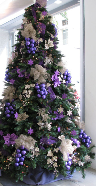 El cuaderno del decorador rboles de navidad colores ii - Arboles de navidad blanco decoracion ...