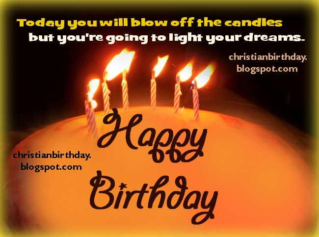 Happy Birthday with Jesus shining in your heart and dreams – Nice Happy Birthday Cards