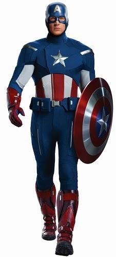 Kostum Captain America - Avengers (2012)