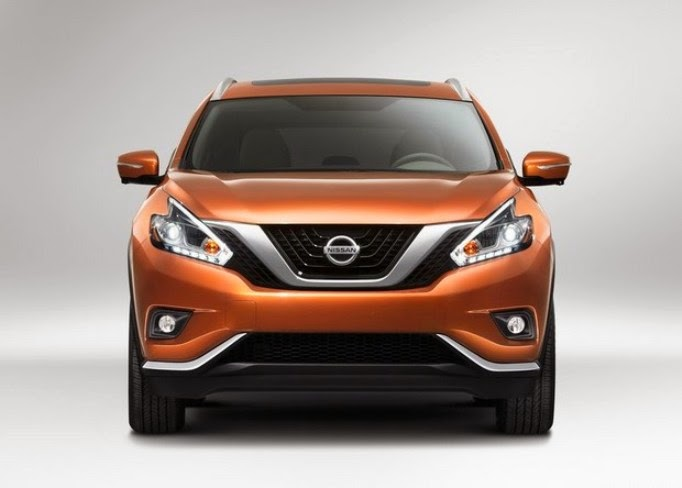 This is the new 2015 Nissan Murano
