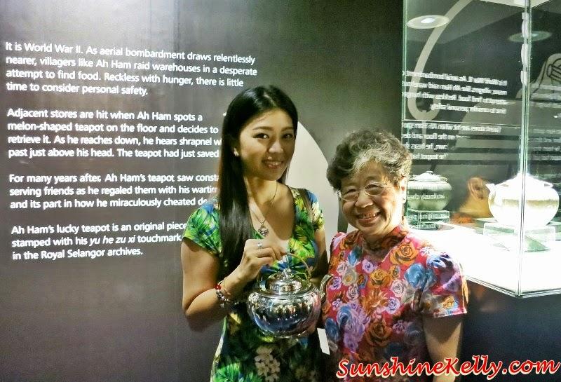 Datin Chen Mun Kuen, Lucky Melon Teapot, Melon Pot, Royal Selangor Visitor Centre, Royal Selangor Pewter, Royal Selangor
