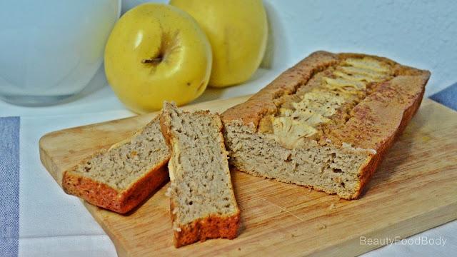 receta recipe bizcocho avena manzana canela jengibre navidad healthy fit fitness sano