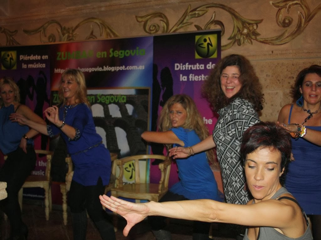PARTY NIGHT ZUMBA® en Segovia- Posada del Duraton- SEBULCOR_ 23.11.2013
