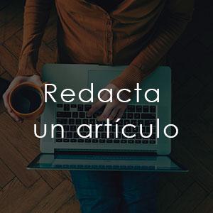 Redacta un artículo