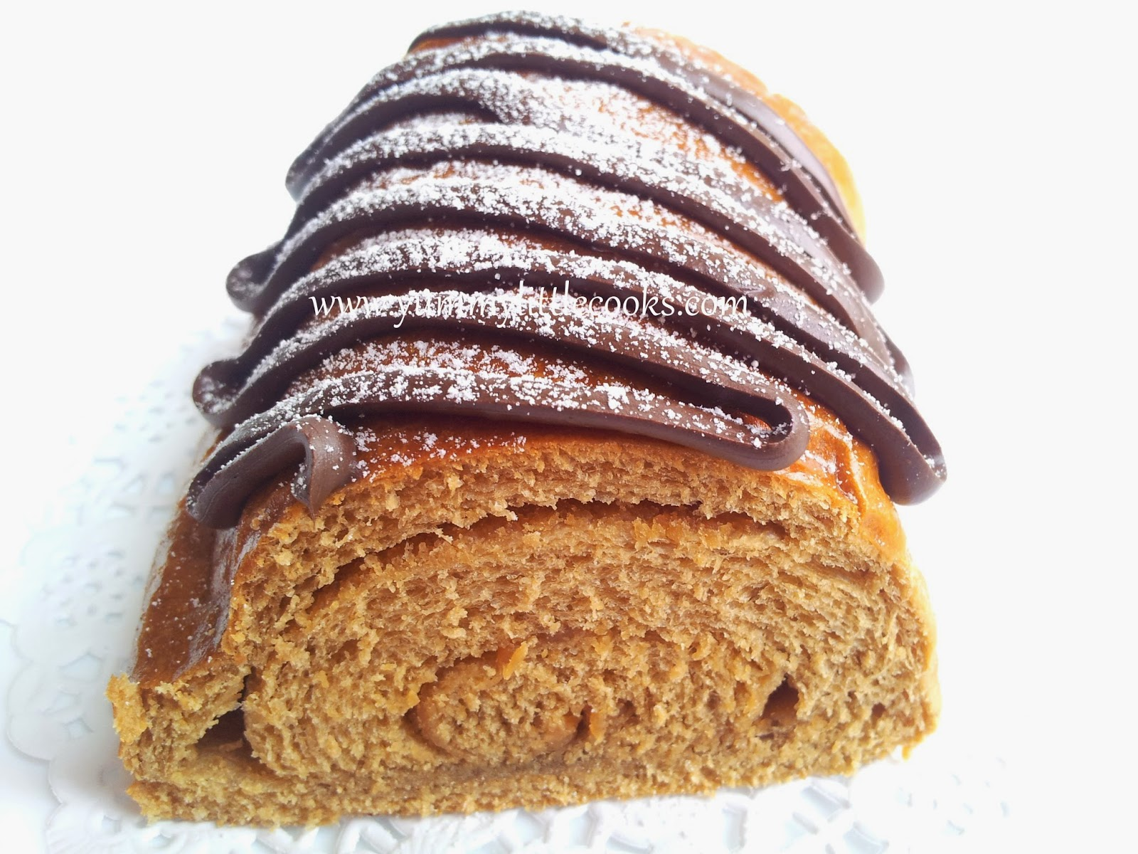 Coffee Peanut Butter Bread