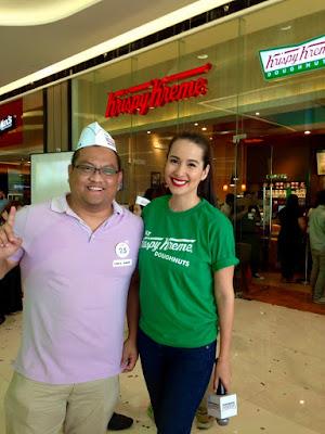 #KKnowinSMSeaside, Krispy Kreme Doughnuts, Krispy Kreme SM Seaside City, SM Seaside City, Original Glazed, Krispy Kreme Philippines, Karla Henry