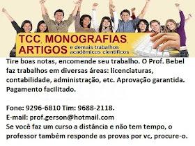 TCCs e Monografias