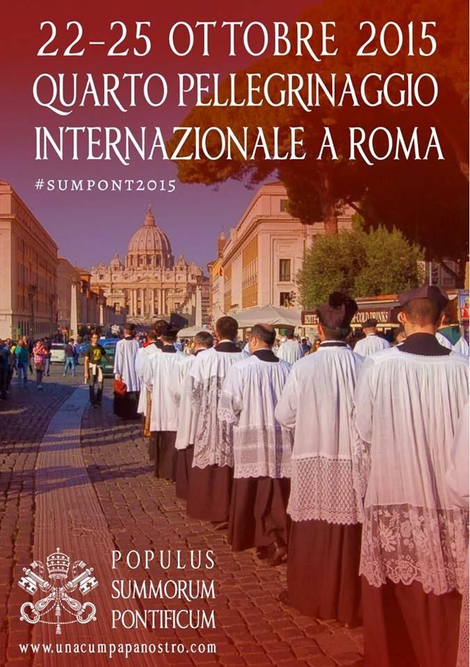 Pellegrinaggio Populus Summorum Pontificum 2015