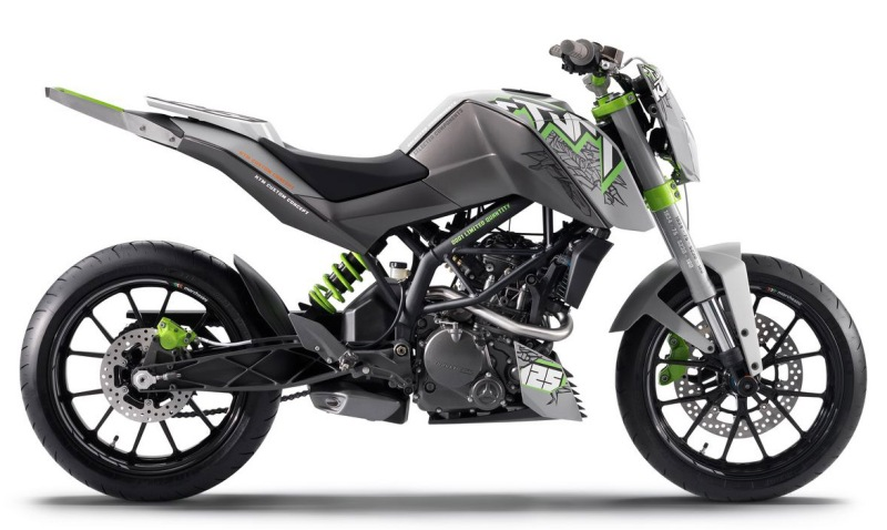 Bajaj duke ktm bike picture with all available colors