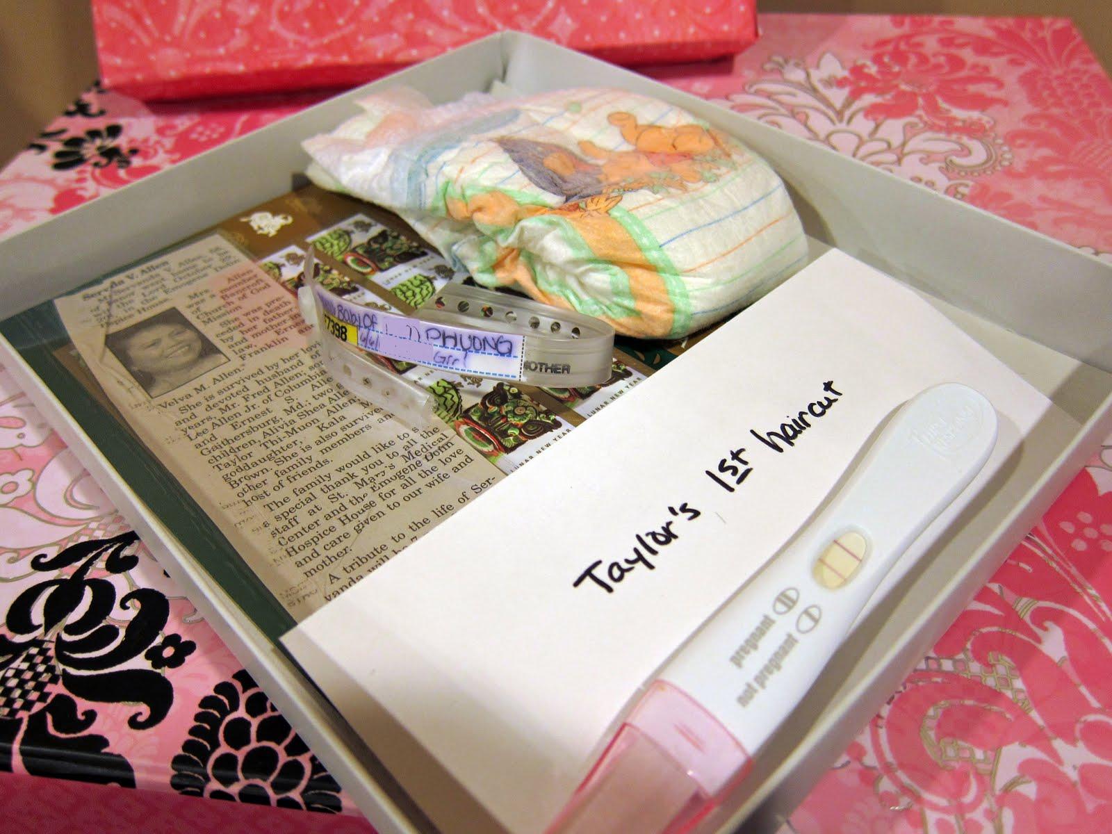 Little Muon Little Muons Memory Box – Baby Announcement Boxes