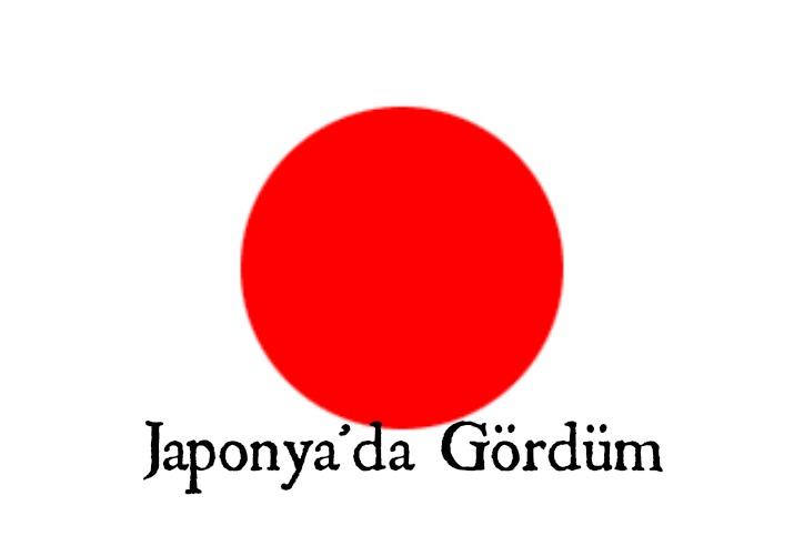 Japonya`da Gördüm