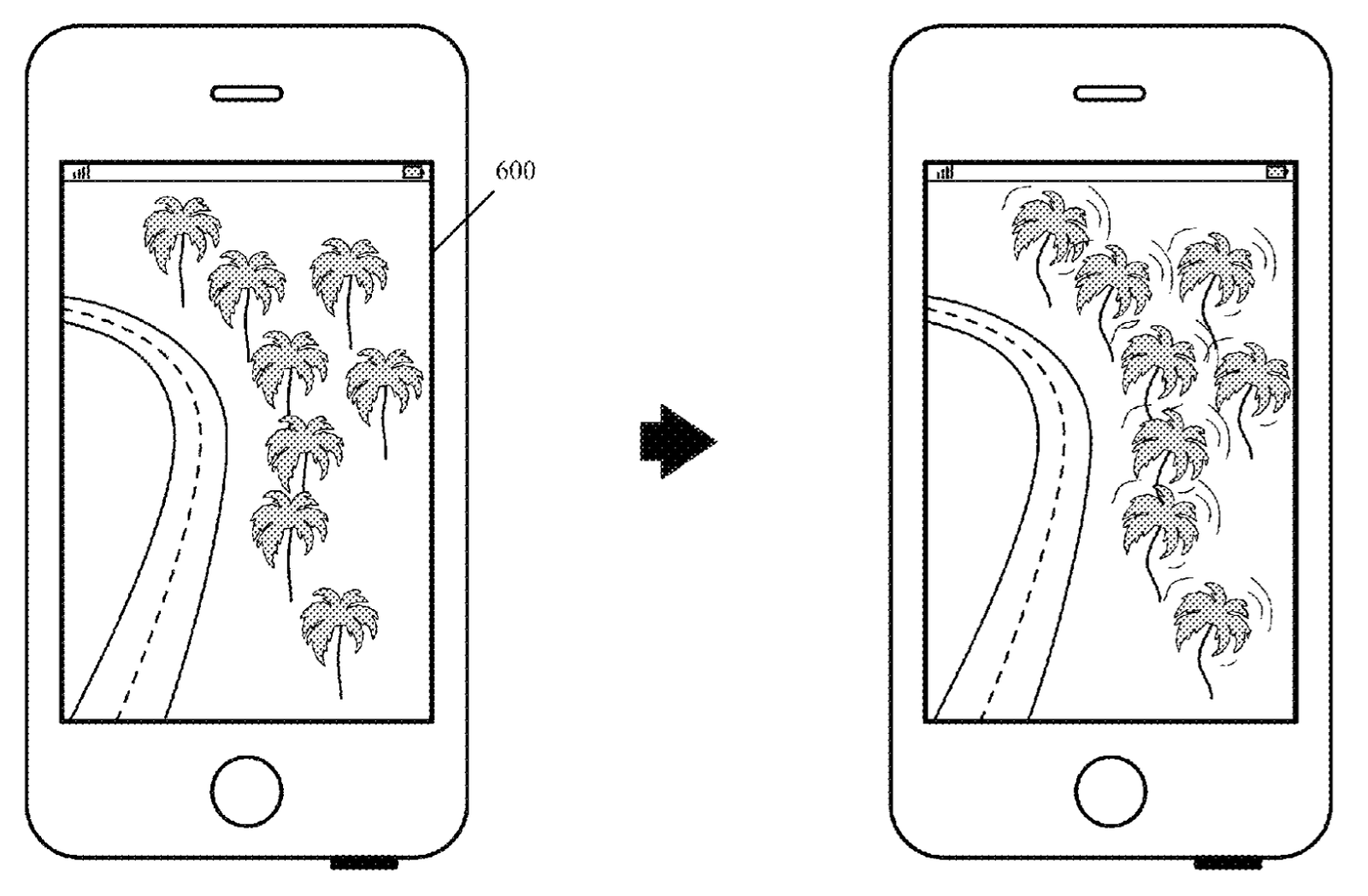 apple patents animated maps that could be activated by 3d