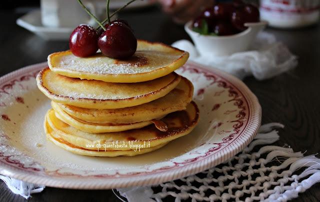 www.qb-quantobasta.blogspot.it - Pancake con ricotta
