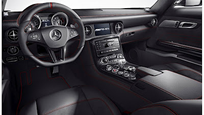 Mercedes Benz SLS AMG GT 583 HP 2013