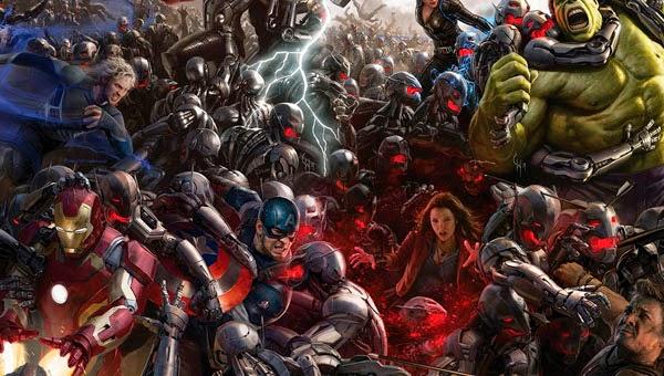 Los Vengadores : La Era de Ultron macroposter