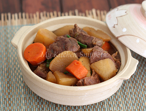 how to make chinese beef stew