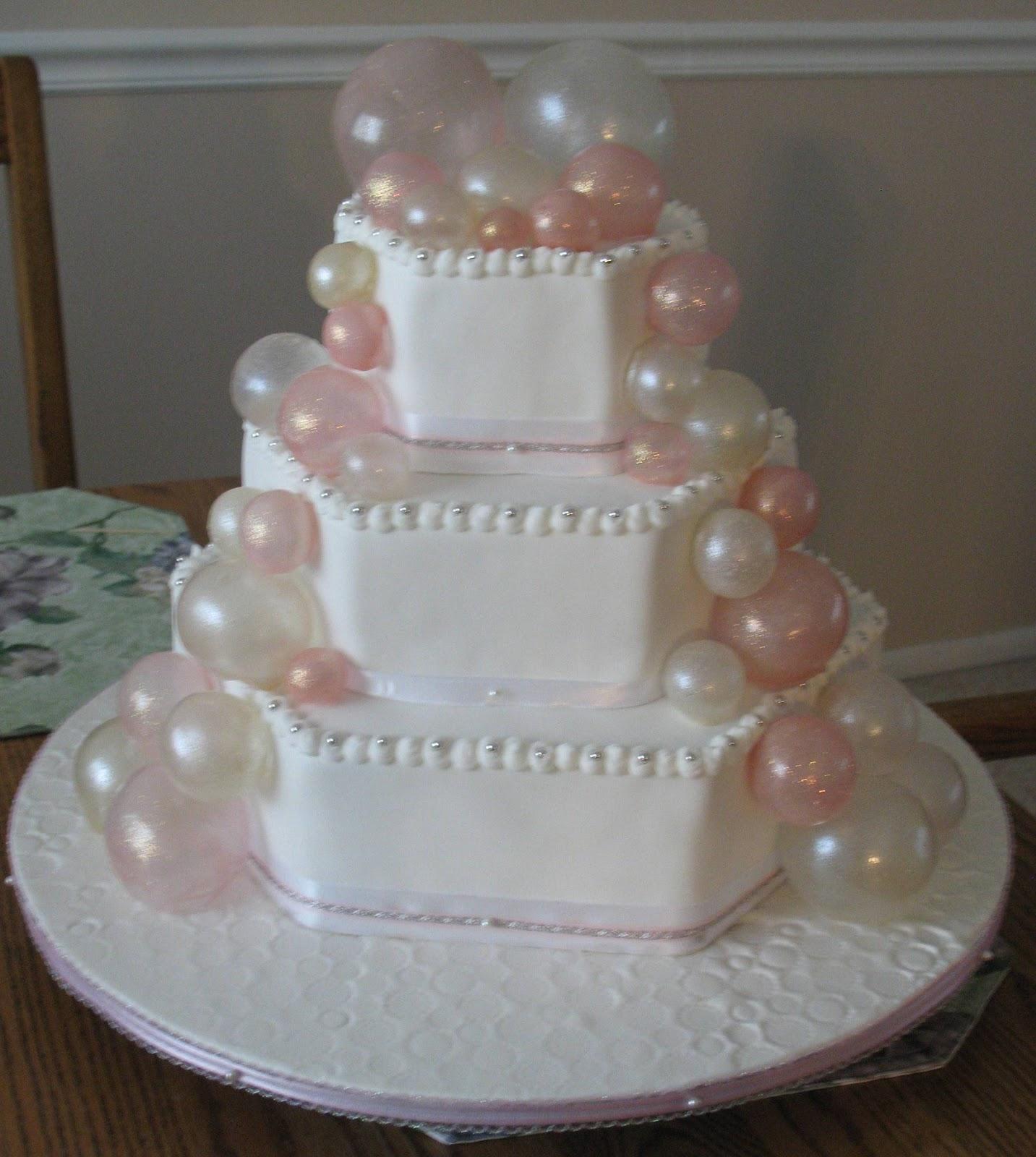 J s Cakes: Baptism Bubbles Cake