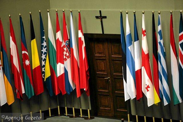9 listopada 2010 roku. Przygotowania do zgromadzenia parlamentarnego NATO w polskim Sejmie