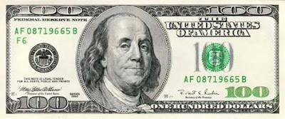 Cien dólares billete