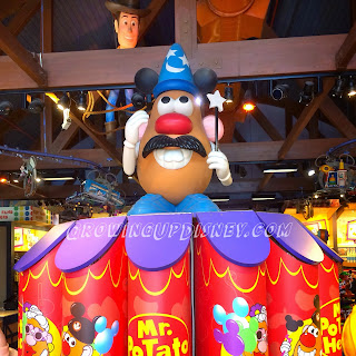 Mr. Potato Head at Downtown Disney, Once Upon a Toy