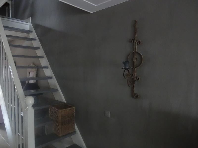 Het Moonhuis: Kalkverf