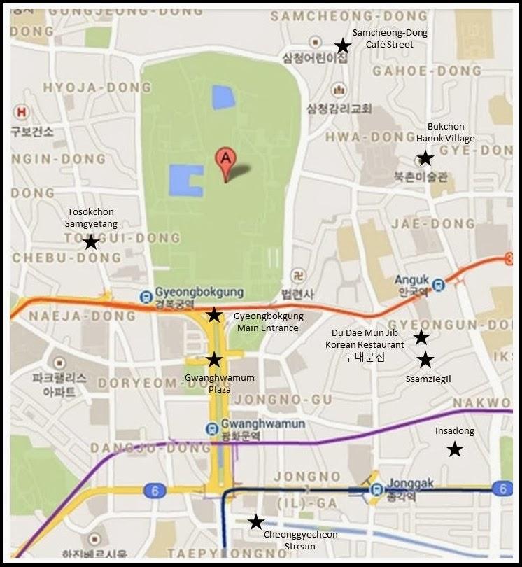 Quarter Life Escape Day 2 Seoul Part 2 Samcheongdong
