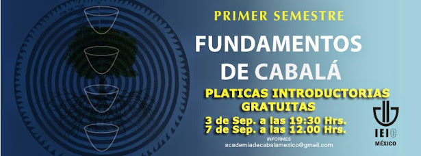 Nuevas plàticas Introductorias y Curso de Cabalà GRATUITOS