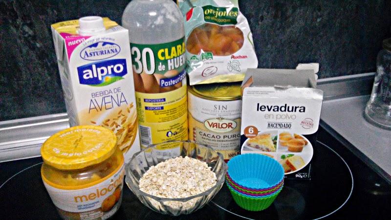 pastel proteico para deportistas receta