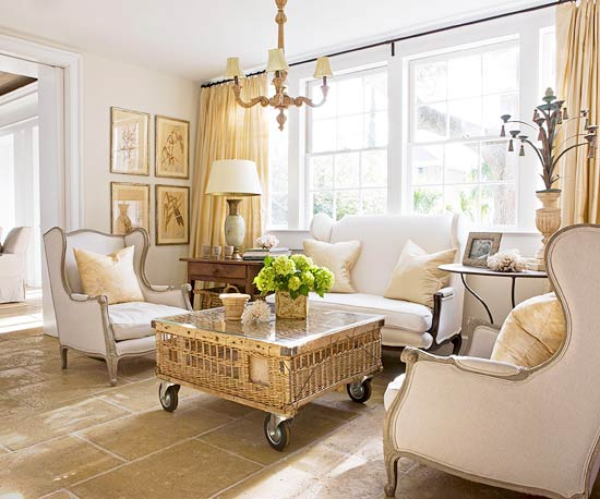 Living Room Decorating Ideas From BHG Modern Furniture Deocor