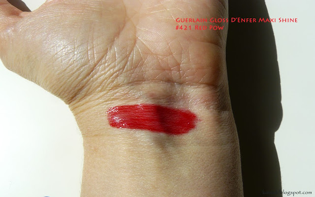 Guerlain Gloss D'Enfer Maxi Shine #421 Red Pow
