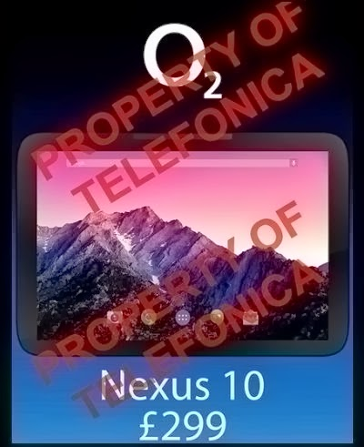 Images leak Nexus 10 built by LG