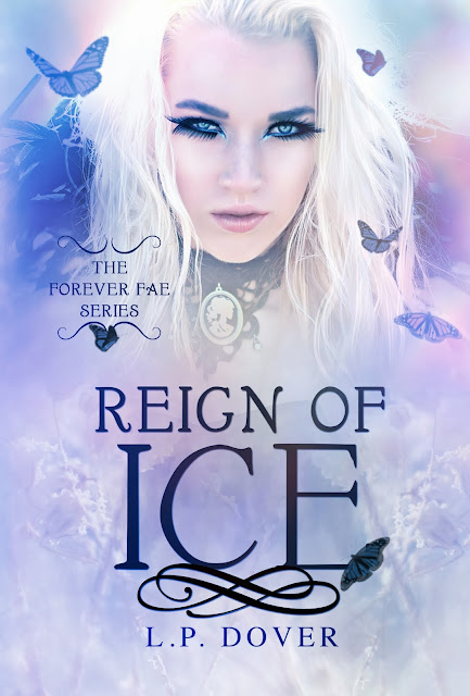 Cover Reveal: Reign of Ice by L.P. Dover