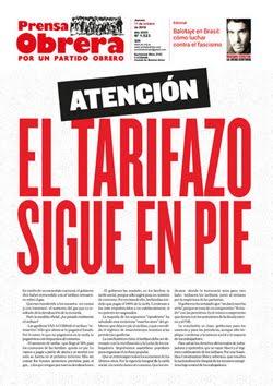 - - - - - - - Prensa Obrera Nº 1523 - - - - - - -